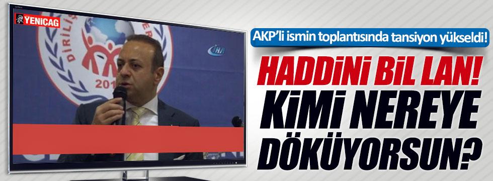 Egemen Bağış'tan CHP'li Bozkurt'a: Haddini bil lan!