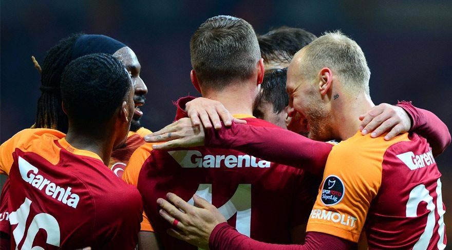 Galatasaray 4-0 Adanaspor / Maç özeti