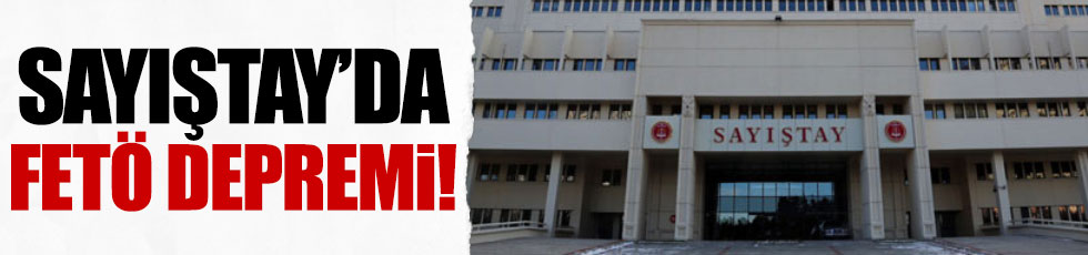 Sayıştay'da 41 FETÖ gözaltısı