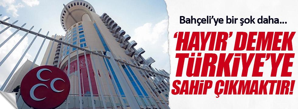 MHP Bozcaada'dan 'hayır' kararı