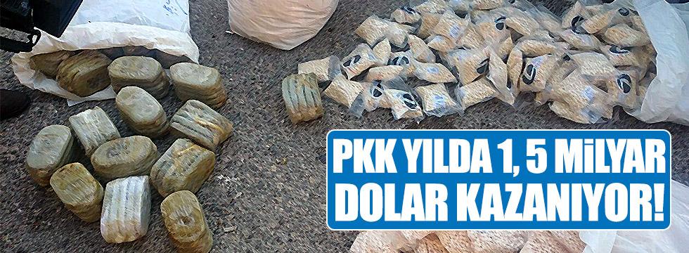 PKK yılda 1,5 milyar dolar kazanıyor!