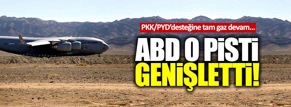 ABD, Ayn El Arab'daki uçak pistlerini genişletti