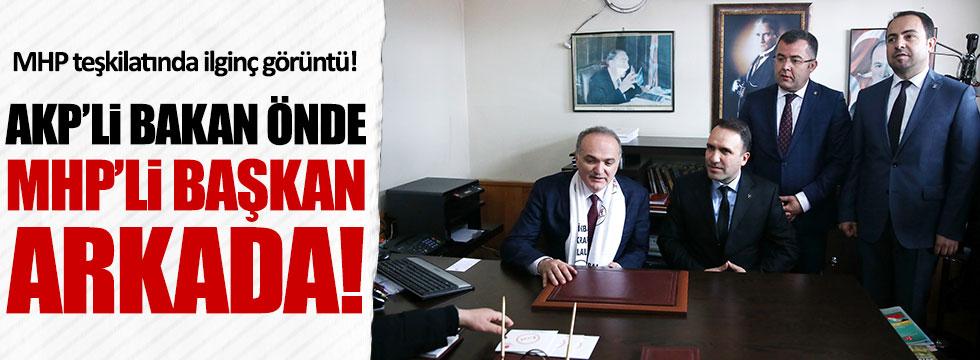 AKP'li Bakan Faruk Özlü: MHP'li kardeşlerimiz 'evet' için çalışacak