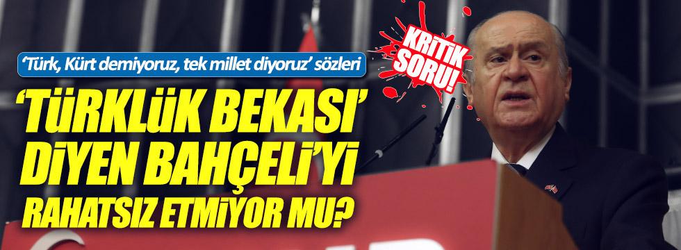 CHP'li Cankurtaran'dan Bahçeli'ye kritik soru