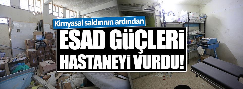 Suriye'de hastane vuruldu