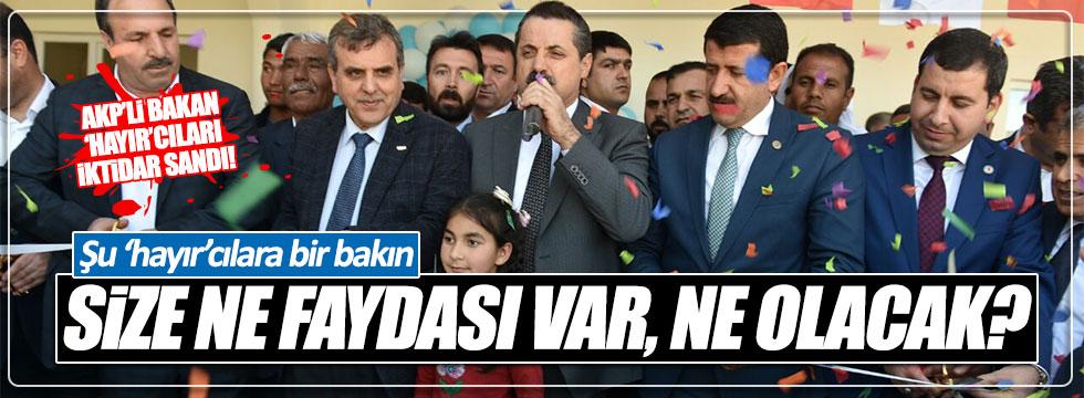 AKP'li Bakan Faruk Çelik'ten ilginç açıklama