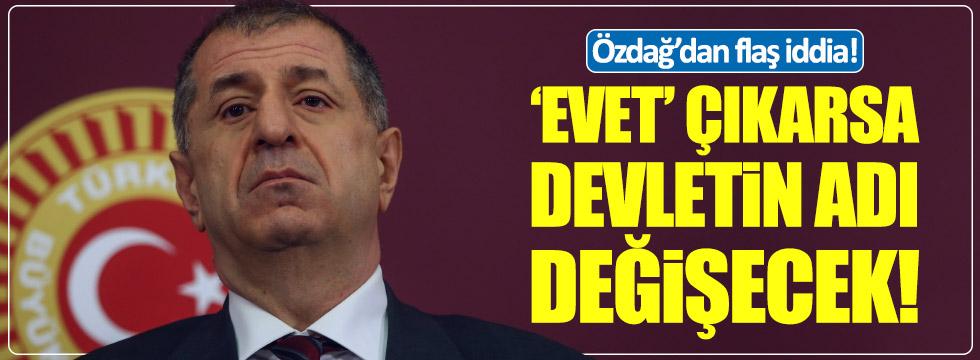 Ümit Özdağ: Federal Anadolu Devleti'ne hazır olun