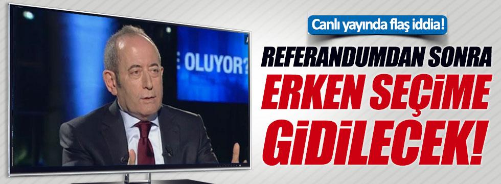 CHP'li vekilden 'erken seçim' açıklaması