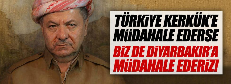 """Barzani, """"Türkiye, Kerkük'e müdahale edemez"""""""