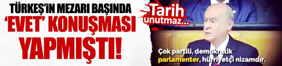 Bahçeli'nin, Türkeş hakkında söyledikleri paylaşım rekorları kırıyor