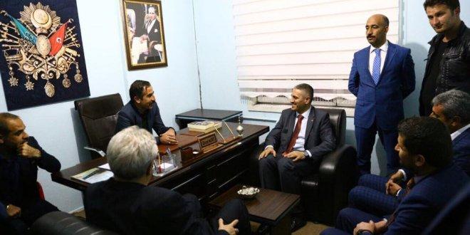 Osmanlı Ocakları'ndan MHP'ye ziyaret