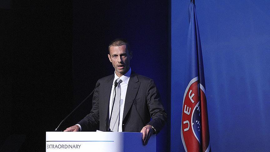 UEFA Başkanı Ceferin'den 'Avrupa Süper Ligi' açıklaması