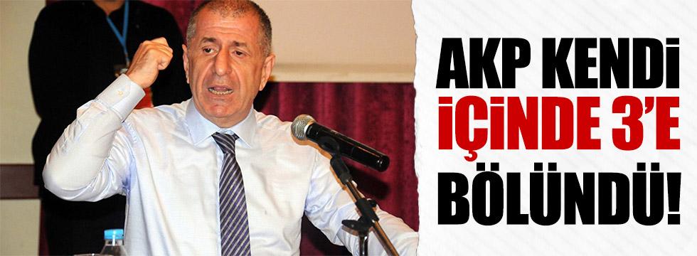 AKP kendi içinde 3'e bölündü!