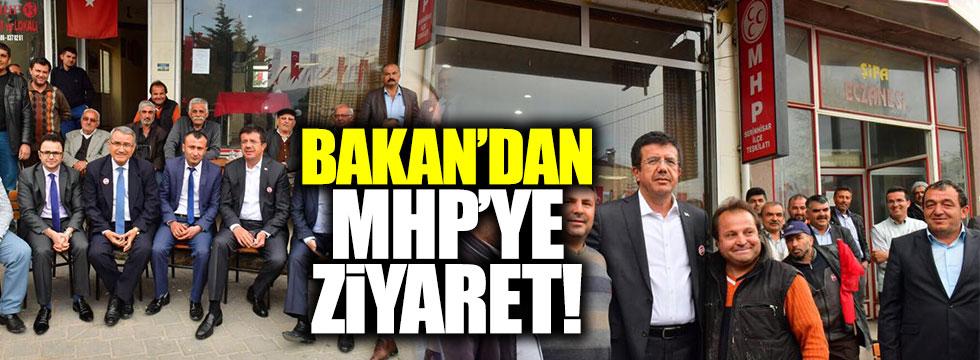 Zeybekçi'den MHP'ye ziyaret