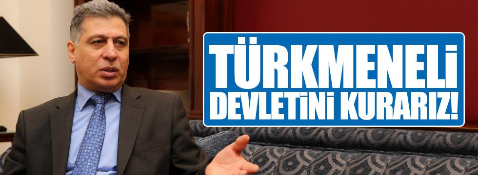 """Salihi: """"Türkmeneli devletini kurarız"""""""