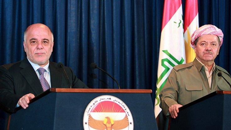 Barzani ve İbadi referandum için anlaştı