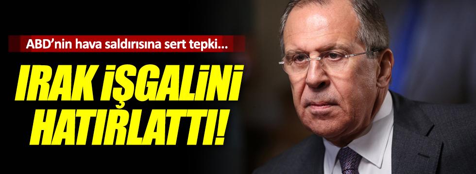 """Lavrov, """"Irak'ın işgalini hatırlattı"""""""