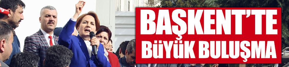 Akşener, Başkent'ten 'hayır' diyecek