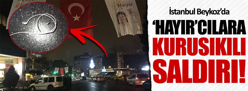 İstanbul'da 'hayır'cılara kurusıkıyla saldırı