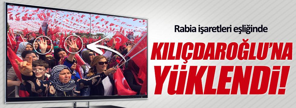 Bahçeli, rabia işaretleri eşliğinde Kılıçdaroğlu'na yüklendi