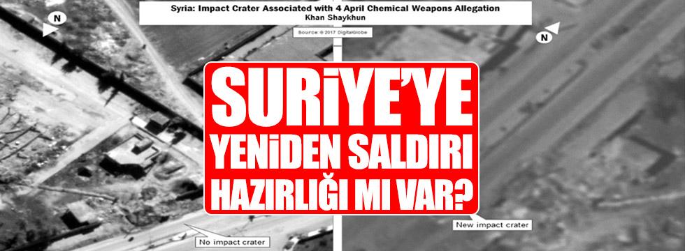 Suriye'ye yeniden saldırı hazırlığı mı var?