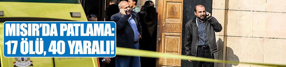 Mısır'da patlama: 17 ölü, 40 yaralı!