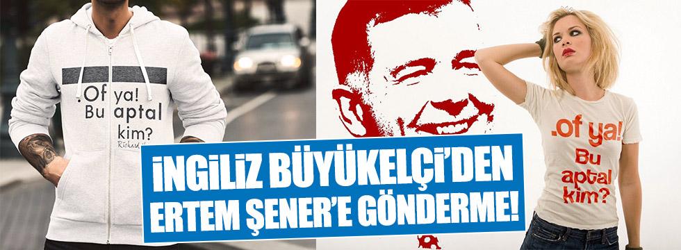 İngiliz Büyükelçi'den Ertem Şener'i kızdıracak paylaşım!