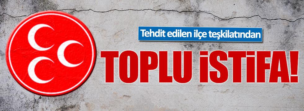 MHP Isparta Uluborlu teşkilatı istifa etti