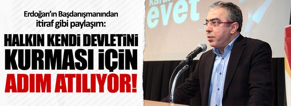 Erdoğan'ın Başdanışmanından itiraf gibi paylaşım