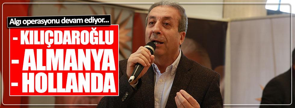 AKP'li Mehdi Eker yine Almanya, Hollanda ve Kılıçdaroğlu'nu hedef aldı