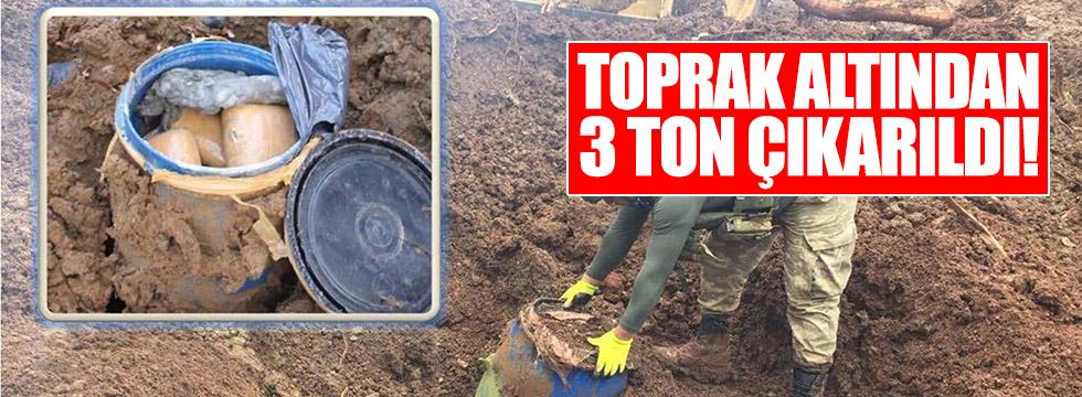 Toprak altından 3 ton çıkarıldı, görenler şok oldu!