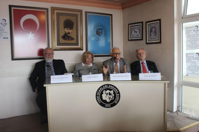 Türk Ocakları Ankara Şubesi Türkeş'i andı