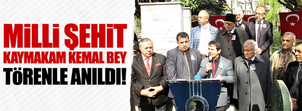 Boğazlayan Kaymakamı Mehmet Kemal Bey anıldı