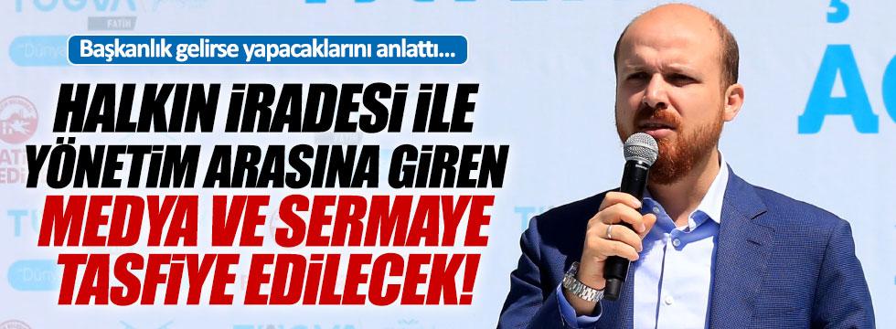 """Bilal Erdoğan: """"Cumhurbaşkanlığı sisteminde tasfiye olacaklar"""""""