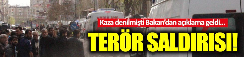"""Diyarbakır'daki patlama: """"terör saldırısı"""""""