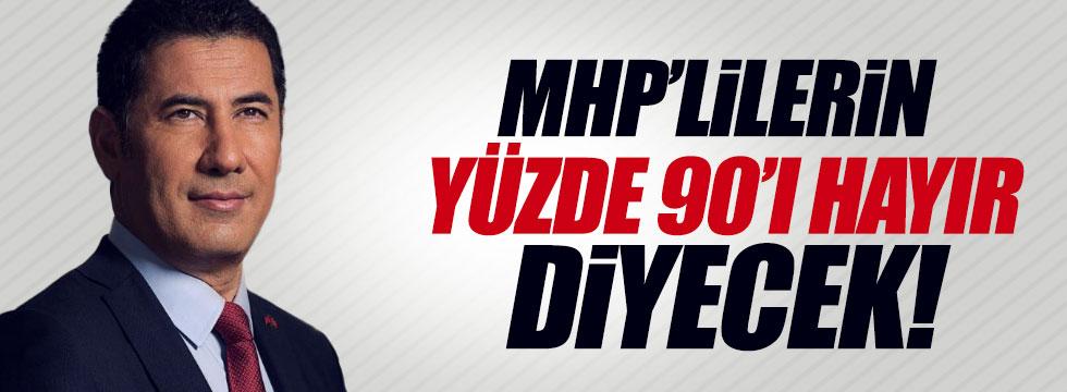 """Oğan: MHP'lilerin %90'ı """"Hayır"""" diyecek!"""