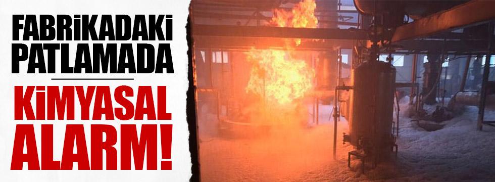 Tekirdağ'da tekstil fabrikasında patlama