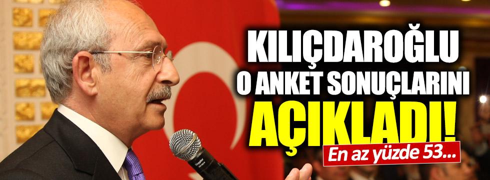 Kılıçdaroğlu: İstanbul'da en az yüzde 53 'hayır'