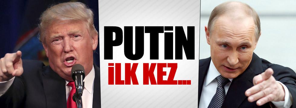 Putin ilk kez Trump'ı eleştirdi