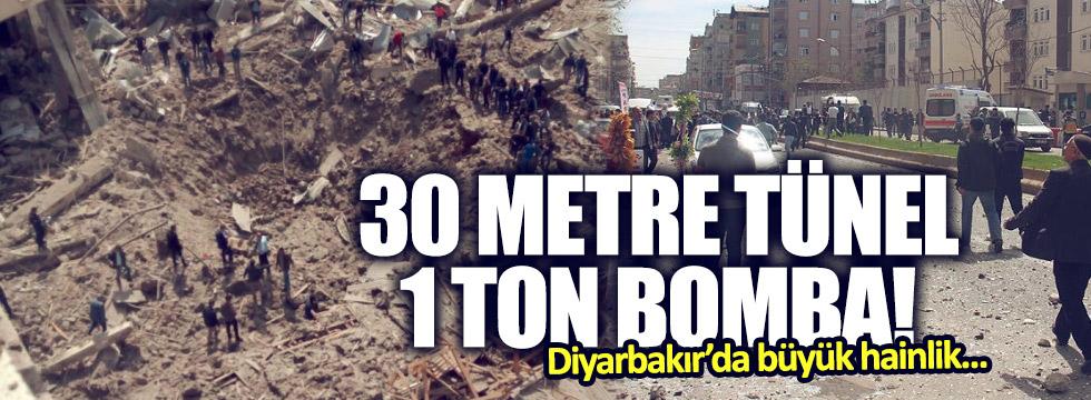 Diyarbakır'daki patlamada 1 ton bomba kullanılmış