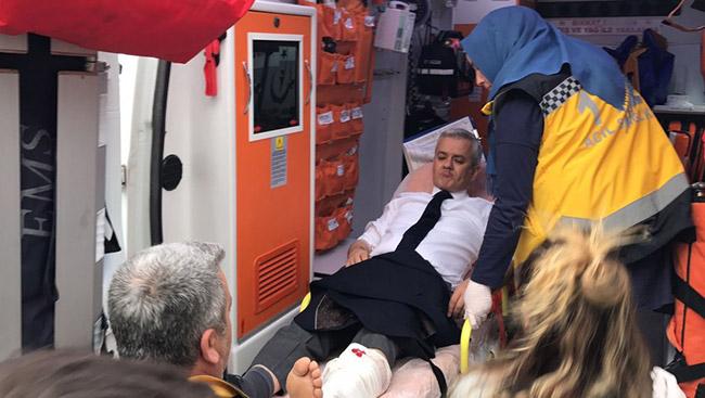 Eski AKP'li başkan vuruldu
