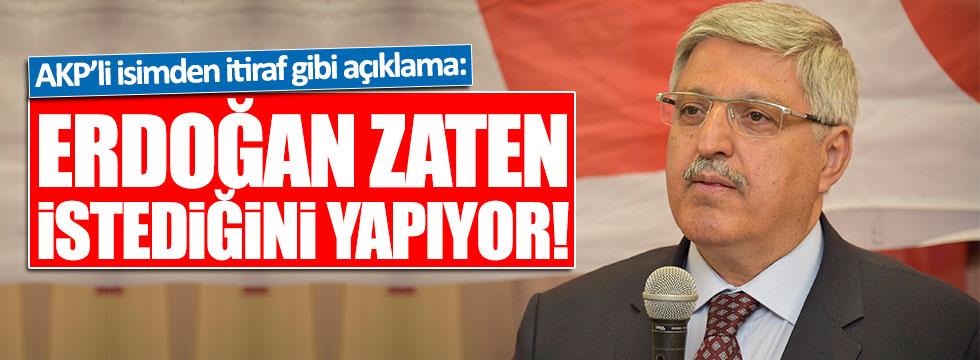 AKP'li Demiröz'den itiraf gibi açıklama