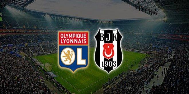 Beşiktaş-Lyon maçı öncesi flaş karar