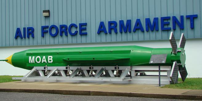ABD, Nangahar'a GBU-43 bombası attı