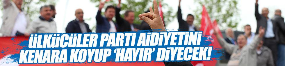 CHP'li Altay: Ülkücüler 'hayır' diyecek