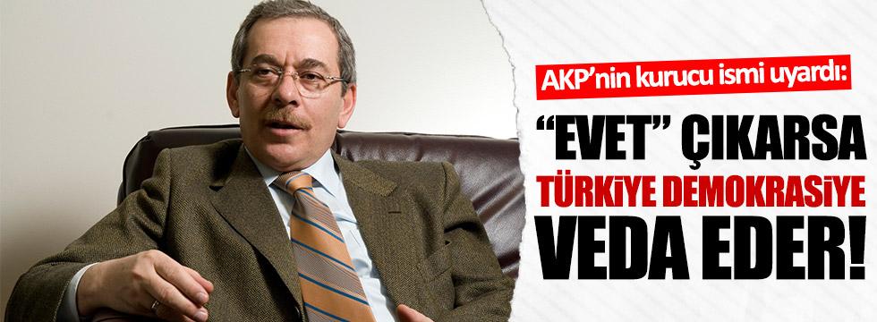"""Şener: """"Evet"""" çıkarsa Türkiye demokrasiye veda eder!"""