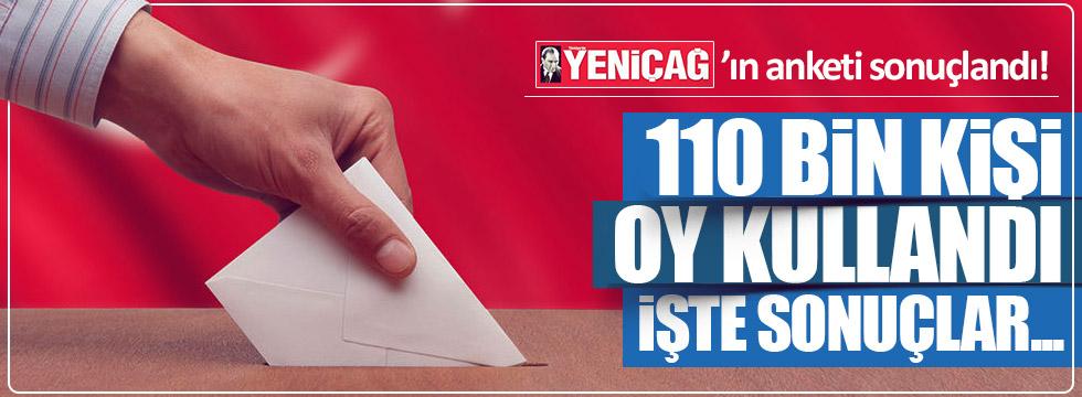 Yeniçağ'ın dev referandum anketi sonuçlandı
