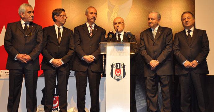 Beşiktaş'ta divan seçimi sona erdi