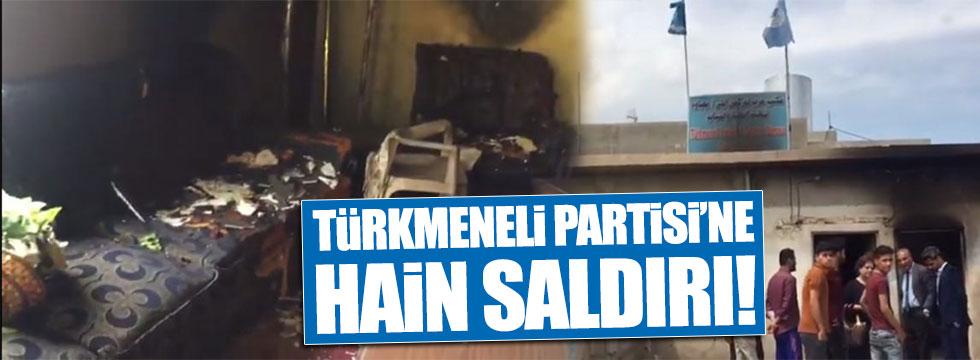 Kerkük'te Türkmeneli Partisi'ne hain saldırı