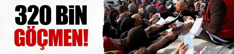 Musul'dan kaçanların sayısı 320 bine yükseldi